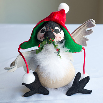 """Annalee Cozy Christmas Chick-a-Dee 2013 - 6"""""""