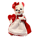 Annalee Valentine Girl Mouse 2016