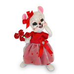 Annalee Valentine Girl Mouse