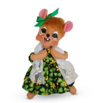 Annalee St. Patrick's Girl Mouse