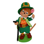 Annalee Leprechaun Boy Mouse 2014 - 6""