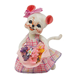 Annalee Spring Flowers Mouse 2016