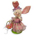 Annalee Large Easter Parade Girl Bunny 2016