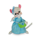 Annalee Blue Skies Girl Mouse