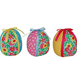 Annalee Easter Eggs - Set of 3