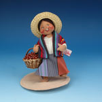 Annalee South American Girl with Basket 1995