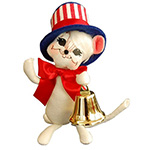 Annalee Let Freedom Ring Mouse 2014 - 6""