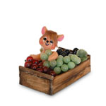 Annalee Grape Crate Mouse