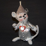 Annalee Wizard of Oz Tin Man Mouse 2008