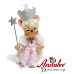 Annalee Wizard of Oz Glinda Witch Mouse 2010