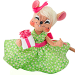Annalee Celebration Gift Mouse