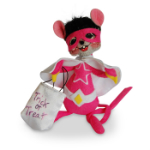 Annalee Super Hero Girl Mouse 2016 - 6""