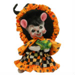 Checker Dot Witch Mouse 2015