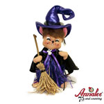 Annalee Purple Witch Mouse 2010