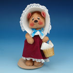 Annalee Harvest Girl Bear 2000