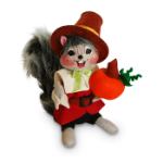 Annalee Pilgrim Boy Squirrel 2016 - 6""