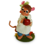 Annalee Apple Picking Girl Mouse 2016 - 6""