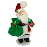 Annalee Holly Berry Santa - Small