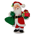 Annalee Holly Berry Santa - Medium
