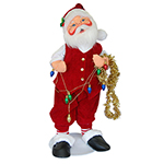 Annalee Holly Berry Santa - Large