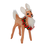 """Annalee Fawn with Wreath 2015 - 5"""""""