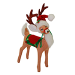 Annaleey Holly Berry Reindeer - 8""