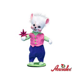 Annalee Winter Whimsy Boy Mouse 2011 - 6""