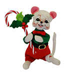"""Annalee Holly Berry Boy Mouse - 6"""""""