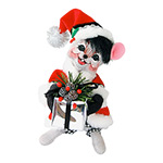 Annalee Gift Giver Mouse 2014