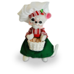 Annalee Cookie Delivery Mouse 2016 - 6""