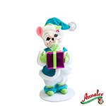 Annalee Winter Whimsy Boy Mouse 2012 - 6""