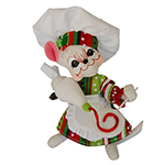 Annalee Jolly Lolli Chef Mouse - 6""