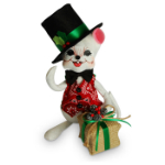 Annalee Rustic Yuletide Boy Mouse 2016 - 8""
