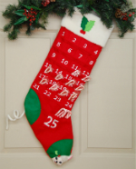Annalee Advent Stocking 2016 - 28""