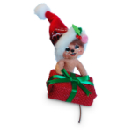 Annalee Rustic Yuletide Mouse 2016 - 3""