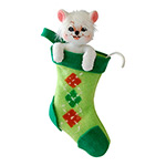 Annalee Cheery Mouse Ornament 2014