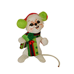 Annalee Jolly Lolli Mouse Ornament 2015 - 3""
