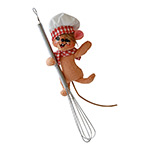 Annalee Chef Mouse Ornament 2014