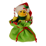 Annalee Ducky in Gift Bag Ornament 2015 - 3""
