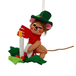 Annalee Candle Mouse Ornament 2015 - 3""