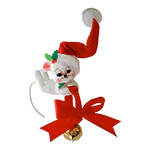Annalee Ring in the Season Mouse Ornament