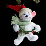 Annalee Alpine Bear Ornament 2013 - 5""