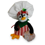 Annalee Ice Cold Penguin Chef 2016 - 5""