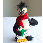 Annalee Cozy Penguin Family 2013 - 6""