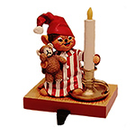 Annalee Candlelight Boy Mouse Stocking Holder 2009
